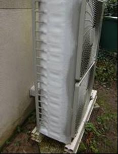 pompe à chaleur ne fonctionne pas prise en glace groupe extérieur LTC Services